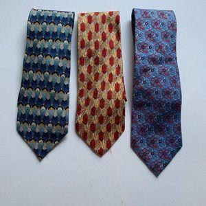 Three Ermenegildo Zegna ties